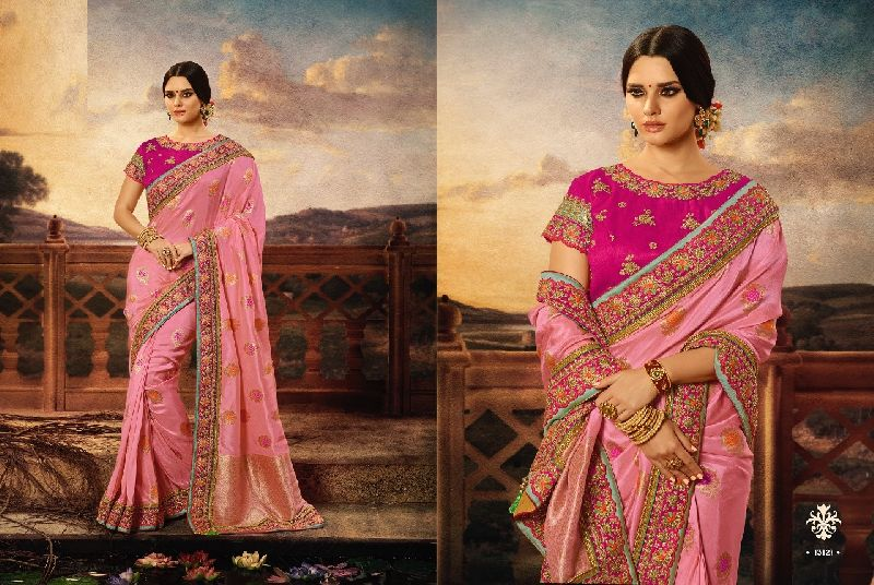 d4692c02f0 Wedding Wear Designer Saree Manufacturer in Maharashtra India by ...