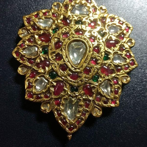 Old Antique Kundan Meena Jewellery