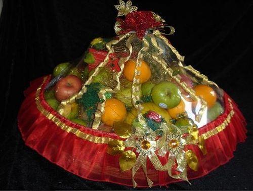 Send Wedding Gift To India: Wedding Fruit Basket Manufacturer In Mumbai Maharashtra