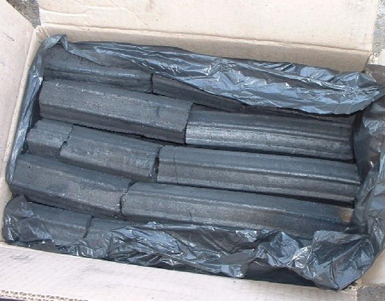 Oak/Bamboo/Sawdust Charcoal Briquette