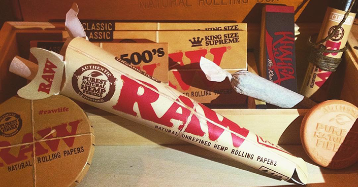 RAW Natural King Size Supreme Hemp Rolling Papers