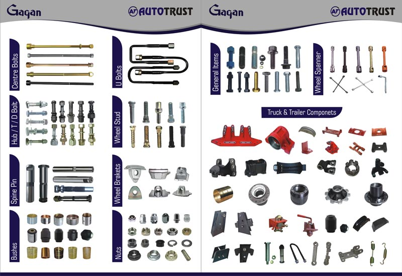 Truck Parts Manufacturer & Exporters from Ludhiana, India