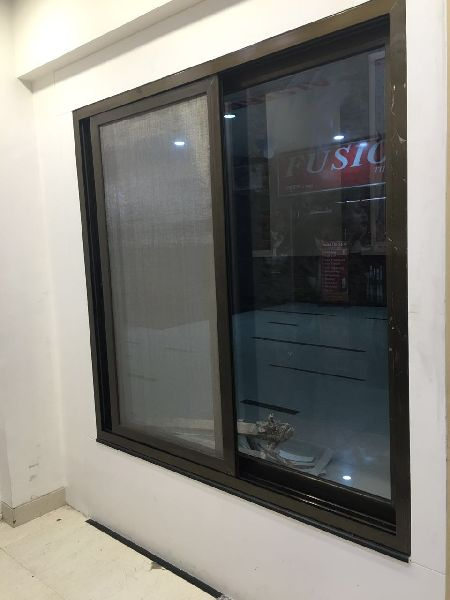 aluminium three track windows Manufacturer in Bangalore