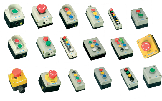 Push Button Control Stations