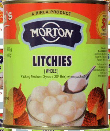 Morton Whole Litchi Manufacturer in Allahabad Uttar Pradesh