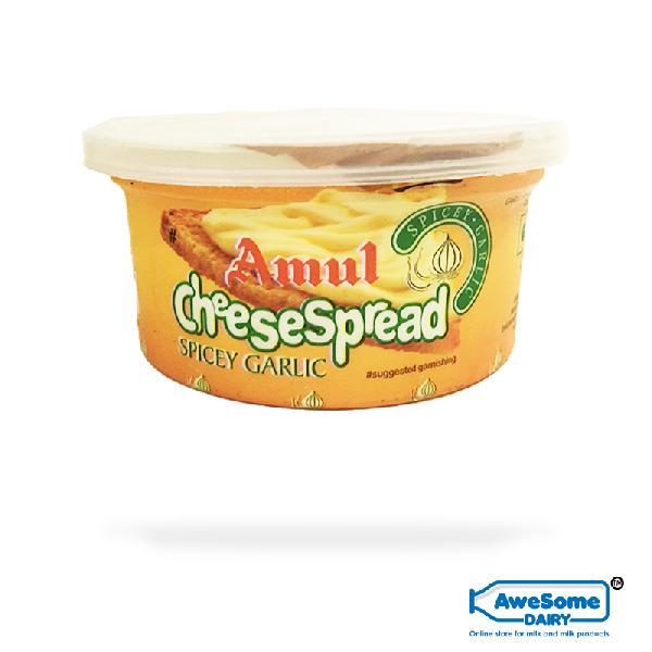Amul Cheese Spread 200g Spicey Garlic
