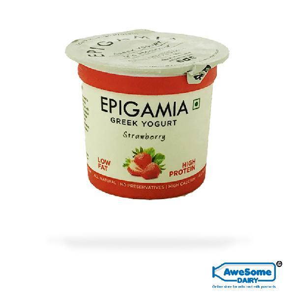 Epigamia Greek Yoghurt 90g Strawberry
