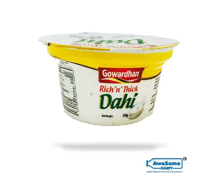 Gowardhan Rich n Thick Dahi 80g