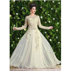 Party Wear Gowns Manufacturer In Delhi India By Bharti Fashions Id
