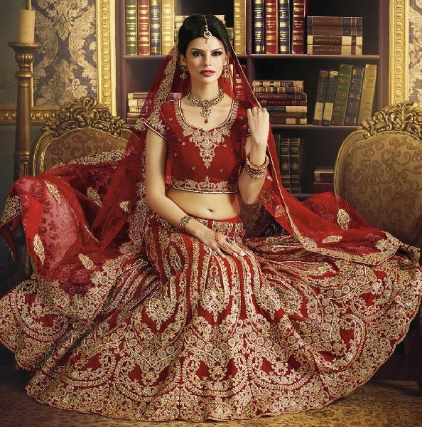 Wedding Lehenga Choli Manufacturer In Delhi India By Bharti Fashions