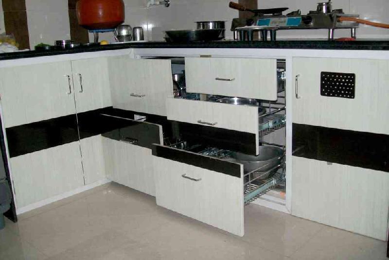 Pvc Kitchen Cabinets Manufacturer In Surat Gujarat India By Shreeji Enterprise Id 2776098