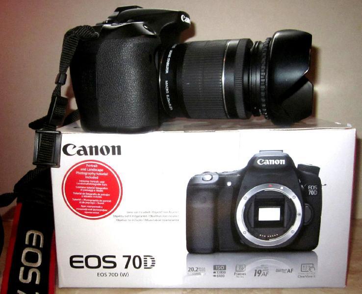 Canon EOS 70D SLR Digital Camera