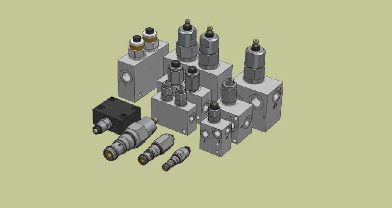 Hydraulic Over Center valves