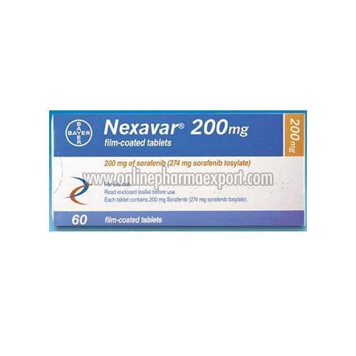 sorafenib 200 mg exporter nexavar Buy nexavar 200 mg online, sorafenib 200 mg tablets online at maximum discount lowest priced generic anti-cancer drug of brand bayer.