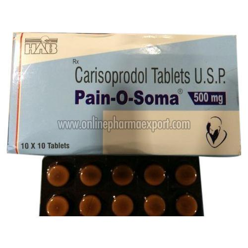 Pain o soma muscle relaxers