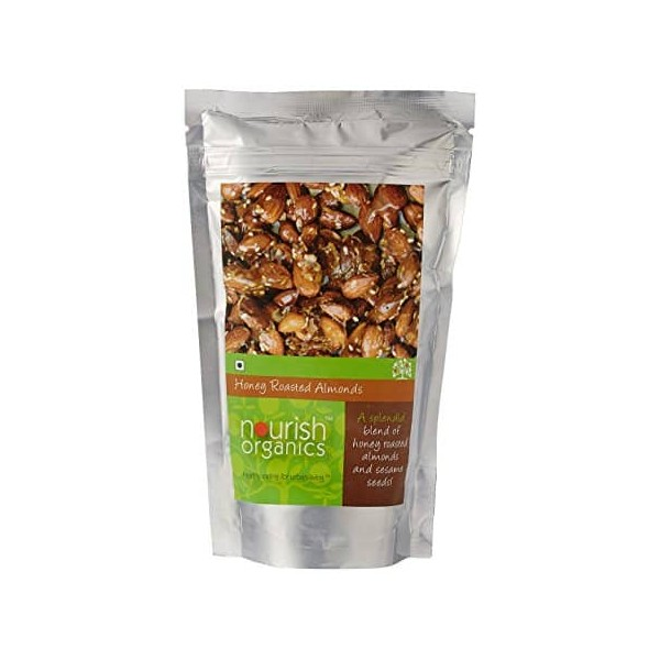 Nourish Organics Honey Roasted Almonds
