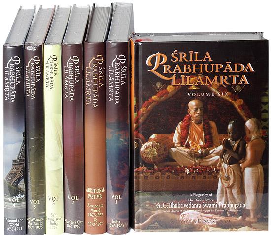 Srila Prabhupada Lilamrita book Manufacturer in Ambala