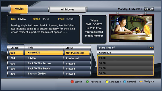 Near Video On Demand Playout System Manufacturer in Navi