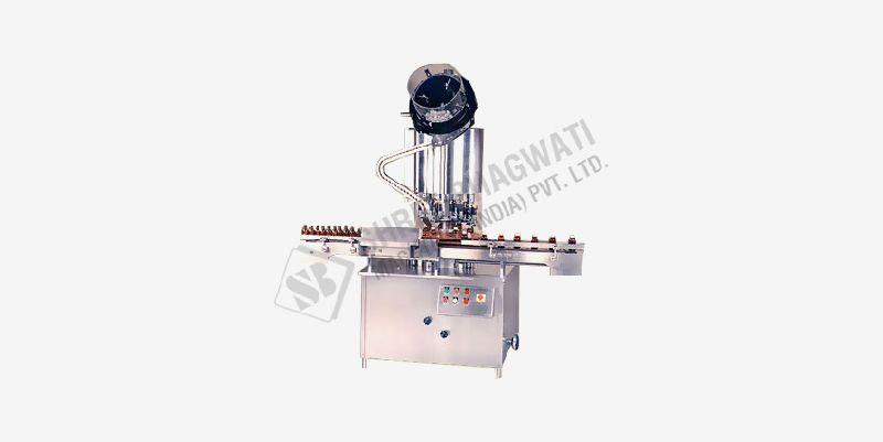 Auminum cap sealing machine