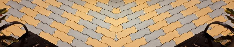 Interlocking Zig Zag Paver Block