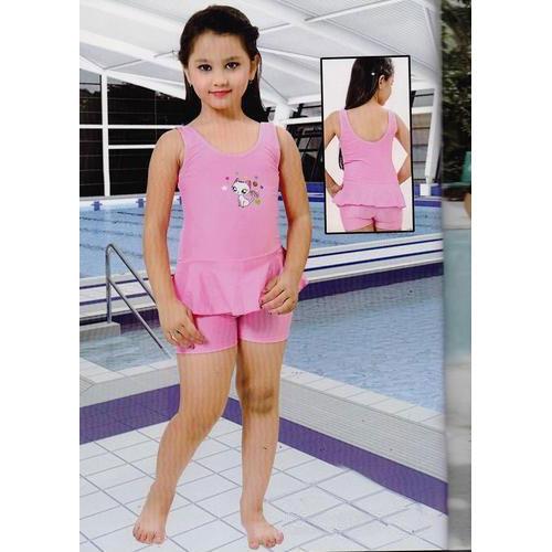 Girls Short Length Swimming Suits Manufacturer In Mumbai Maharashtra