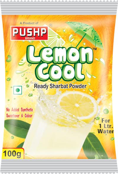 lemon cool sharbat powder