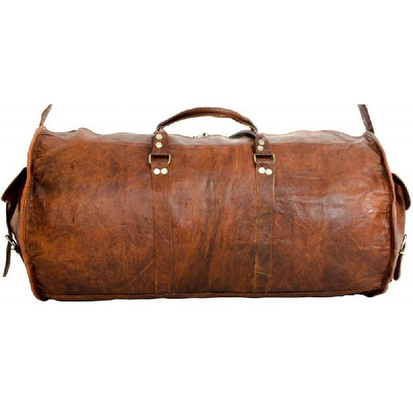 Leather Duffle Bag Manufacturer in Mumbai Maharashtra India by ... bbf991cbeb41b