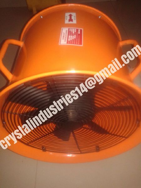marine and industrial ventilation air blower