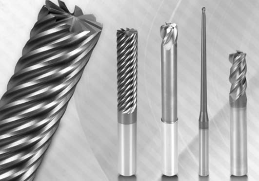 Solid Carbide End Mills (SILMAX , DORMER , HELION)