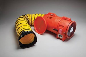 12 Plastic Axial Blower