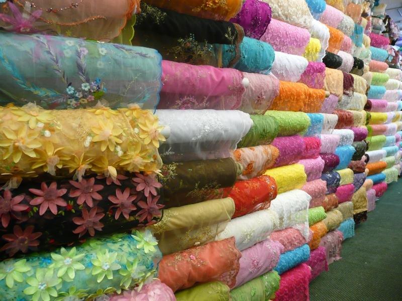 georgette silk fabrics (Fancy Creation)