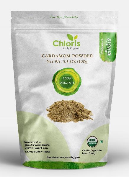 Organic Green Cardamom Powder