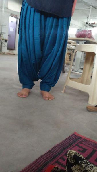 Full patiala salwar in reyon
