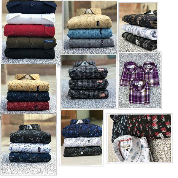 Branded mens Printed & plain casual shirts