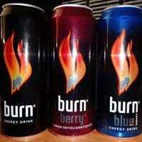 Burn Energy Drink 250ml Cans