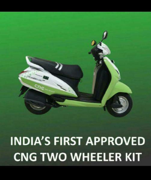 Approved CNG kit for 2 Wheeler & 4 Wheeler in Pune