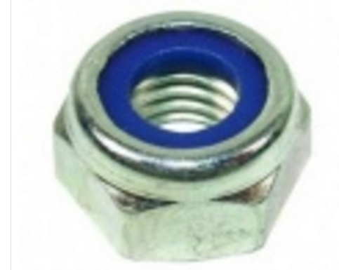 hex nylon lock nut
