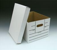 Printed File Storage Box
