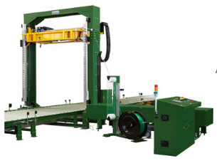 Vertical PET Pallet Strapping Machine