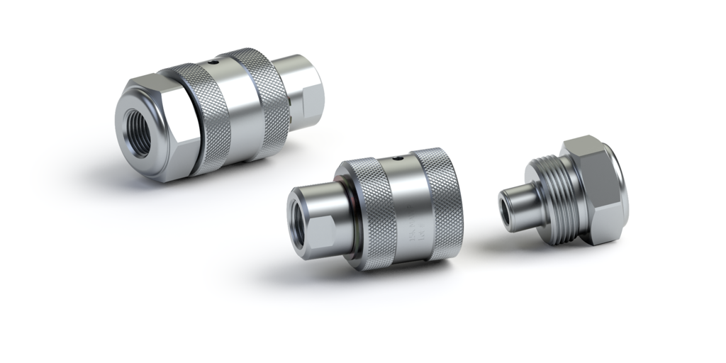 psi SCREW-TYPE QUICK DISCONNECT COUPLINGS