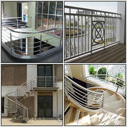 Kitchen Island Railing Systems Stainless Steel