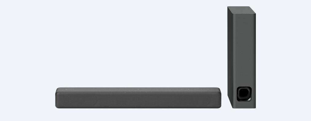 2.1ch Compact Soundbar with Bluetooth technology