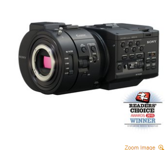 NEXFS700R 4K Sensor High Speed NXCAM Super35 Camcorder