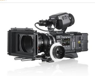 PMWF55 CineAlta 4K PMW Series HD Camcorder..