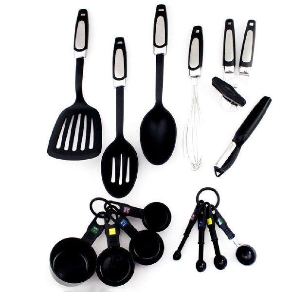 14 Piece Kitchen Utensils Set Manufacturer In Delhi Delhi India By Eastgate Manufacturing Trading Private Limited Id 3705232