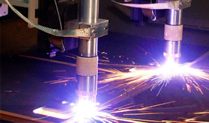 Holloway Custom Steel Plate Cutting machine