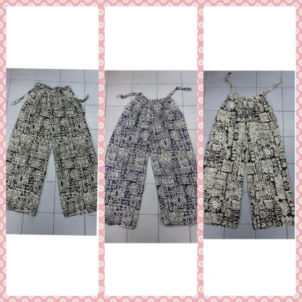 Lady Long batik pants