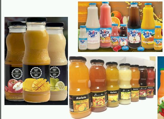 Nectar Juices Exporters in Cairo Egypt by Pelican