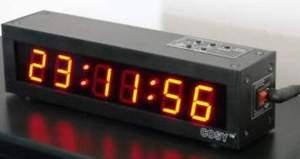 Digital Led Stopwatch Alarm Clocks