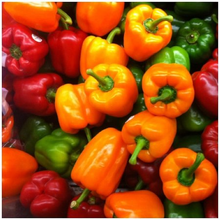 Fresh Green/Red/Yellow Pepper